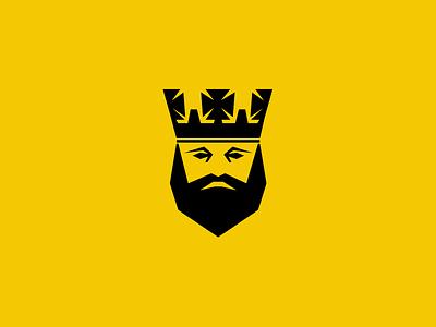 Logo for the King logo bold yellow king