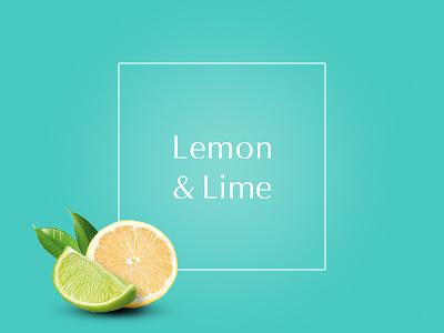 Lemon & Lime fresh spring lime lemon