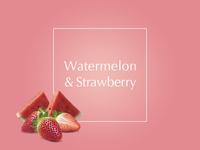 Watermelon & strawberry