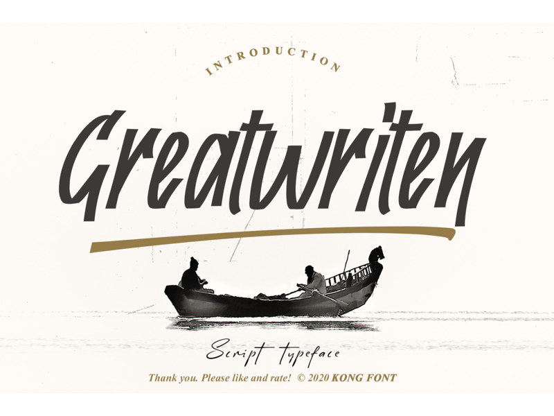 Greatwriten Font swash italic handwritten foodies brand branding fonts font script greatwriten