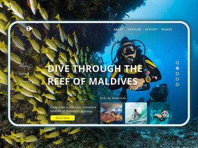 Explore The Unexplored Screen 2 - UI Design Challenge ux design freelancer affinity designer app design website dailyui ui design app ux