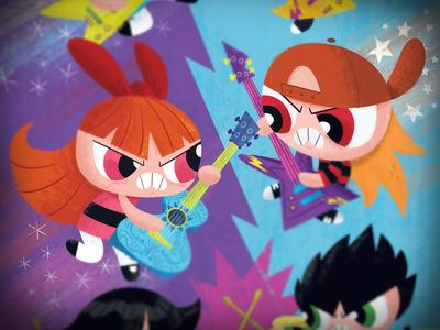 Powerpuff Girls #9 Variant Cover