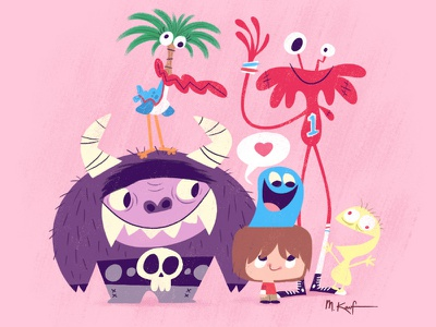 Foster's Home for Imaginary Friends cartoon network illustration characters silly