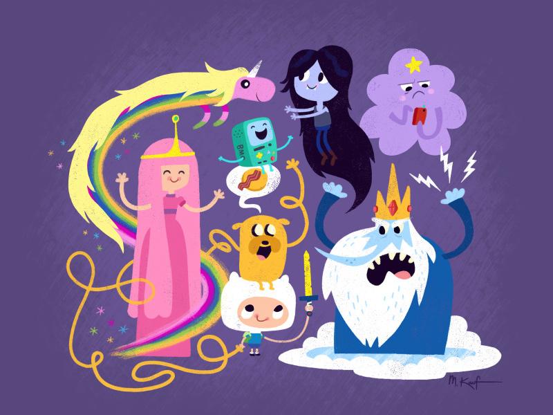 Adventure Time cartoon network illustration fantasy character design cartoon