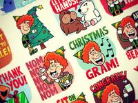 Elf Facebook Stickers