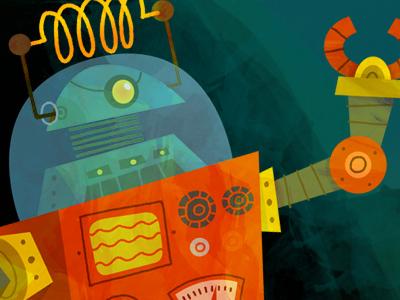 Robot Design robot character design illustration cartoon mechanical