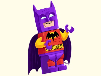 Lego Batman of Zur-En-Arrh comics illustration toy minifigure lego batman