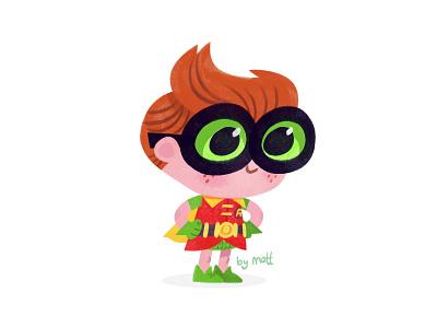 Robin character design illustration legobatman lego dccomics batman