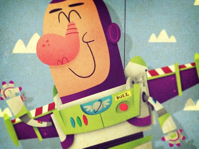 Buzz Lightyear 3d animation astronaut buzz lightyear cartoon disney illustration pixar spaceman toy story