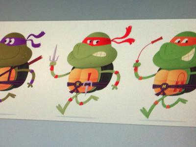 Turtle Power! tv 80s illustration cartoon animal hero turtles tmnt