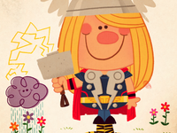 Thor's Day Off