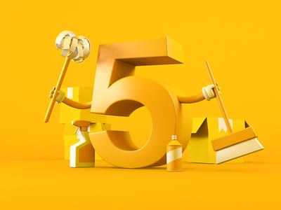 5....