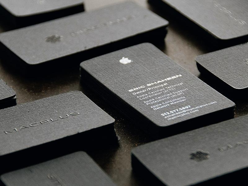 Macplus businesscards
