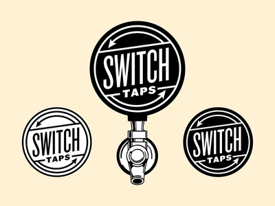Switch Taps Logo Design