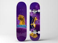 Thanos SkateBoard Deck