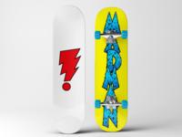 Madman Skateboard Deck