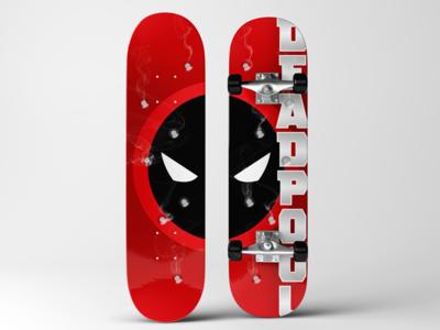 Deadpool Skateboard Deck