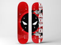 Deadpool Skateboard Deck