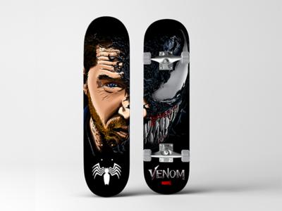 Venom Skate Deck