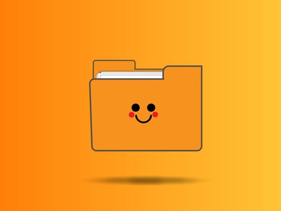 Happy Folder ! illustration