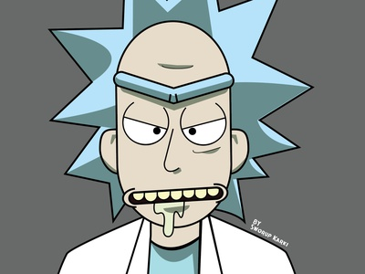 Rick illustration illustration