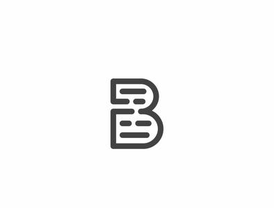 B Writer logo