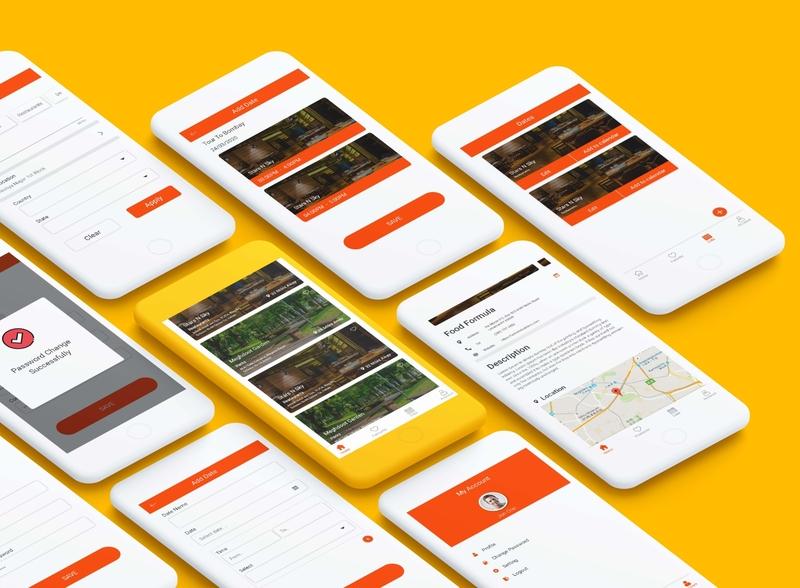 App UI For Dating Platform