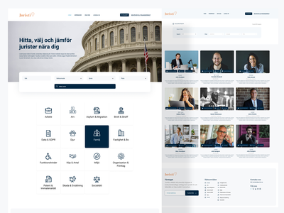 Lawyer Finder Website landing page design user interface design ui ux web ui  ux design lawyer website ui ux lawyer site lawyer website lawyer