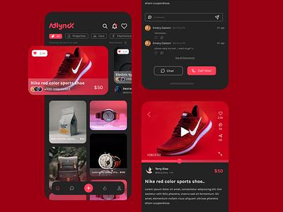 Social Media For Buy/Sell app ui app design app ui ux social app ads app product ads app buy sell app social media ios app social media app social media