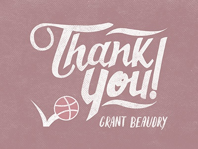 Thanks art design hand type typography custom lettering hand lettering first thank you thanks dribbble