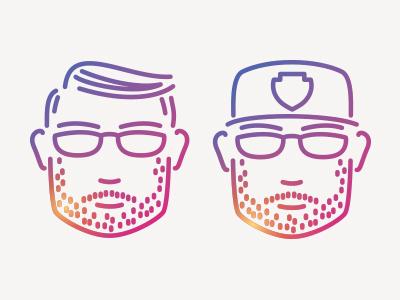 Me instagram graphic art personal concept minimal art graphic design branding