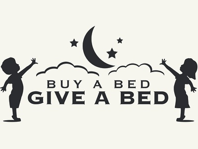 BBGB stars moon shop local bed mattress logo one for one