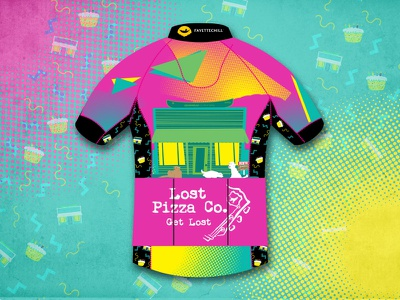 Cycle House Kit 2 jersey cycling kit cycling gearhead saved by the bell retro 80s