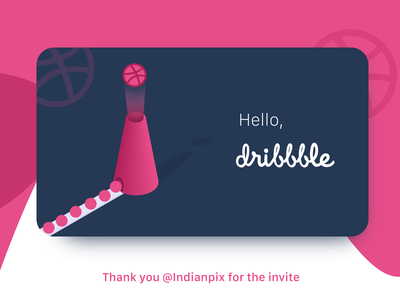 Hello Dribbble ! We are here.