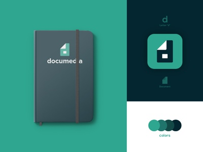 Documedia - Brand Identity Design brand and identity letter d logos notebook mockup notebook design awesome logo designs dual meaning logos design lovers creative work branding and identity branding design brand design branding designs brand identity design branding logo design logo design graphic designer brand designer logo designer