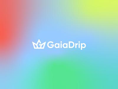 GaiaDrip Logo Design gaiadrip app logo app icon logo design logo design logo designer