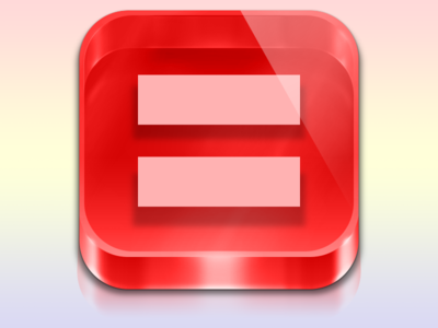 Human Rights Campaign Marriage Equality Icon By Matthew Gallagher