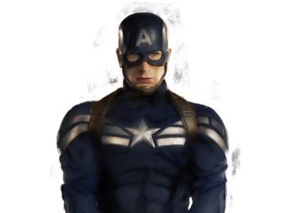 Captain America mcu mark portrait photoshop illustrator illustration captain america steve rogers marvel