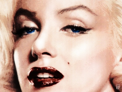 Marilyn adobe photoshop illustrator portrait