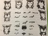 novembeard doodles