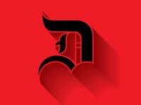 letterform D