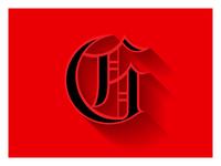 g letterform
