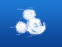 mickey mouse cloud