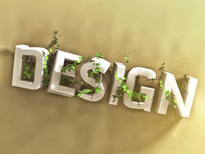 Desert Design typography. design tjaydesign awesome brown type typography 3d desert text