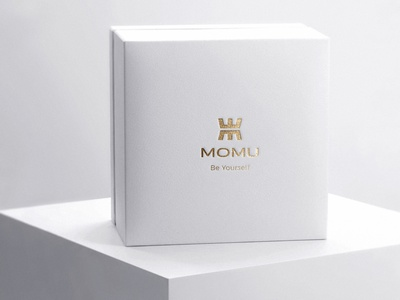 Branding Momu - Packaging package woman packaging accessory store female brand female accessories logo accessories woman box design logotype gold jewelry store jewelry shop jewelry logo logo packagedesign jewelry packaging jewelry packaging