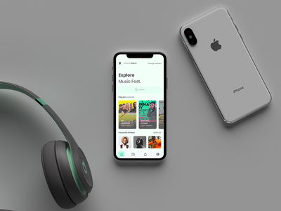 Homepage mobile app design figma design ux ui