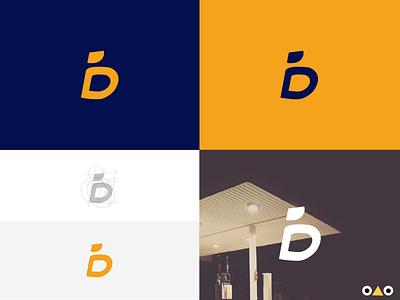 Lettermark logo design illustration logo design branding design