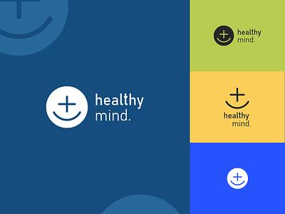 Healthy mind logo design visual identity brand identity typography logo design photoshop logo design branding
