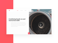 Aviation engineer | Landing page
