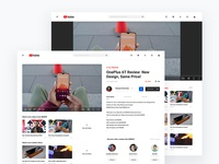 YouTube Redesign [Rebound]